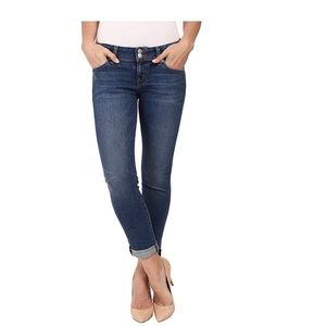 Hudson Ginny Cuffed Jeans Ankle Crop